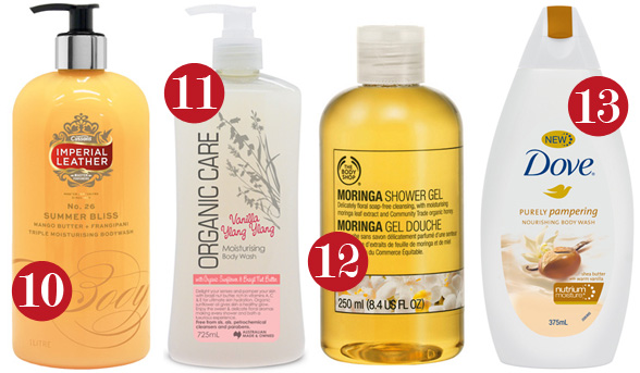13 Scrumptious Smelling Body Washes
