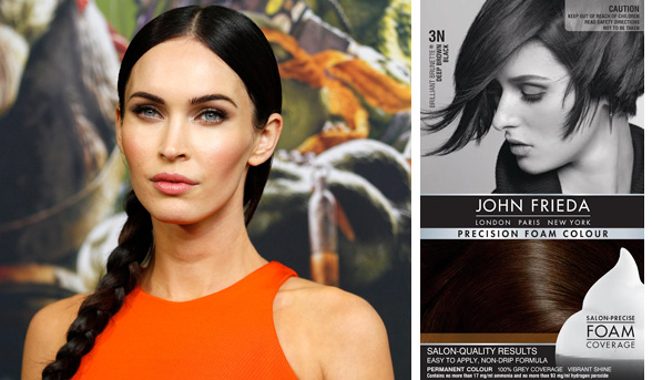 To Achieve A Similar Colour Result Try John Frieda Precision Foam In 3n Brilliant Brunette Deep Brown Black The Luminous Fusion Of And