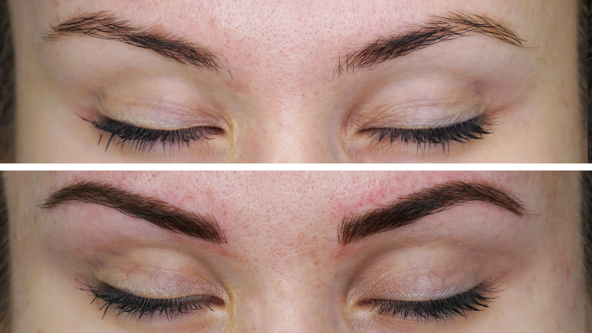 Microblading Eyebrows Before and After Photos