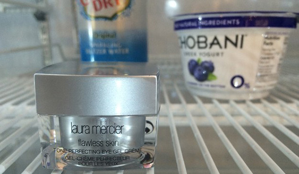 Eye cream fridge