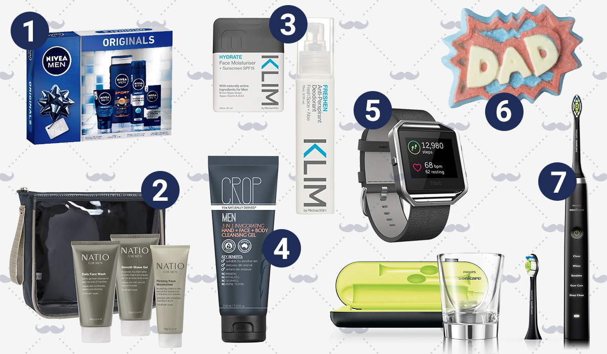 father's day skin and body gifts