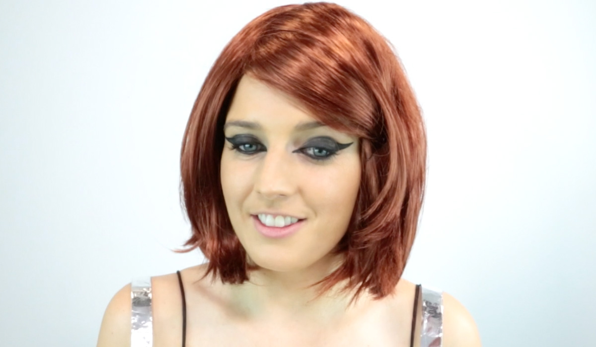red head wig