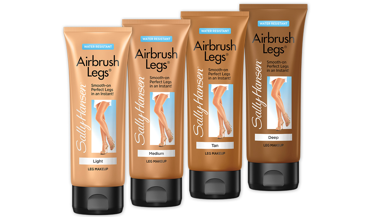 Sally hansen airbrush legs makeup shade range