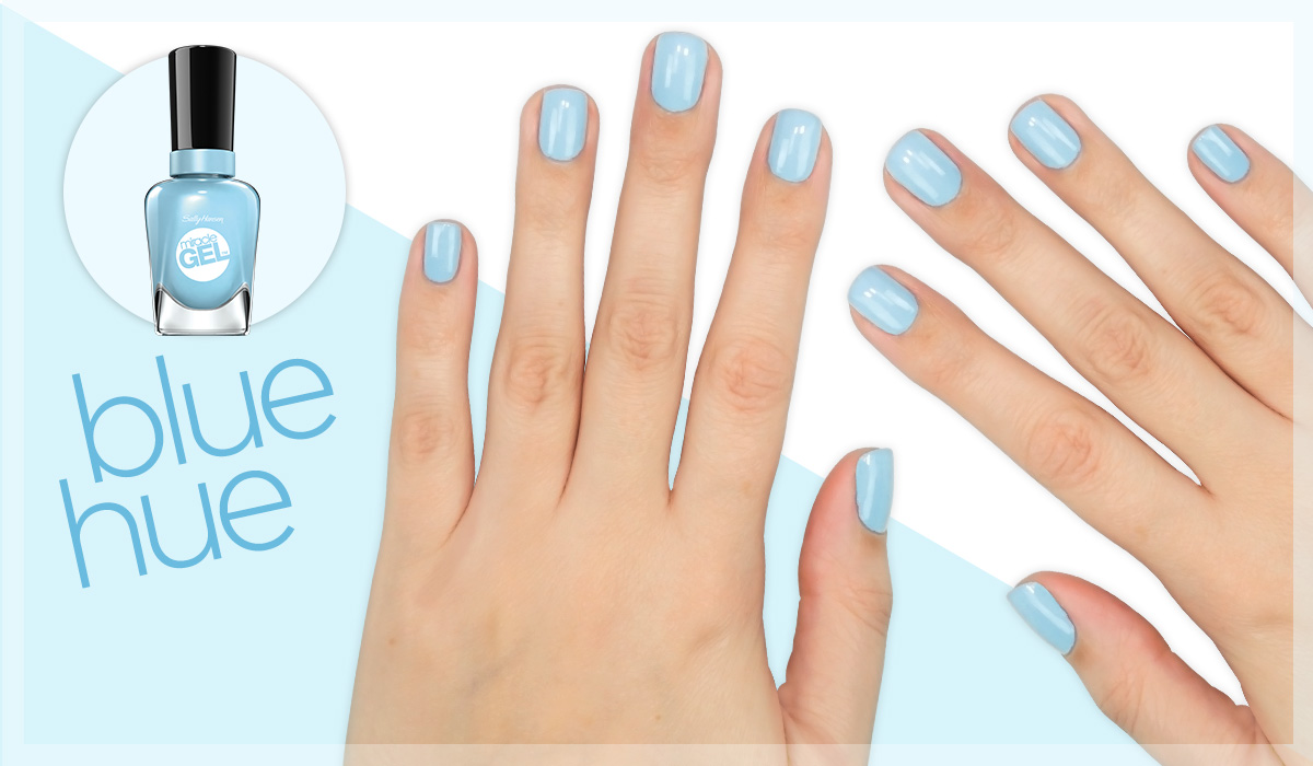 sally hansen miracle gel blue hue