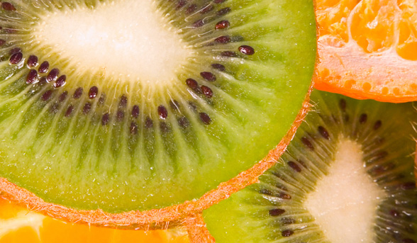 Kiwifruit orange face mask