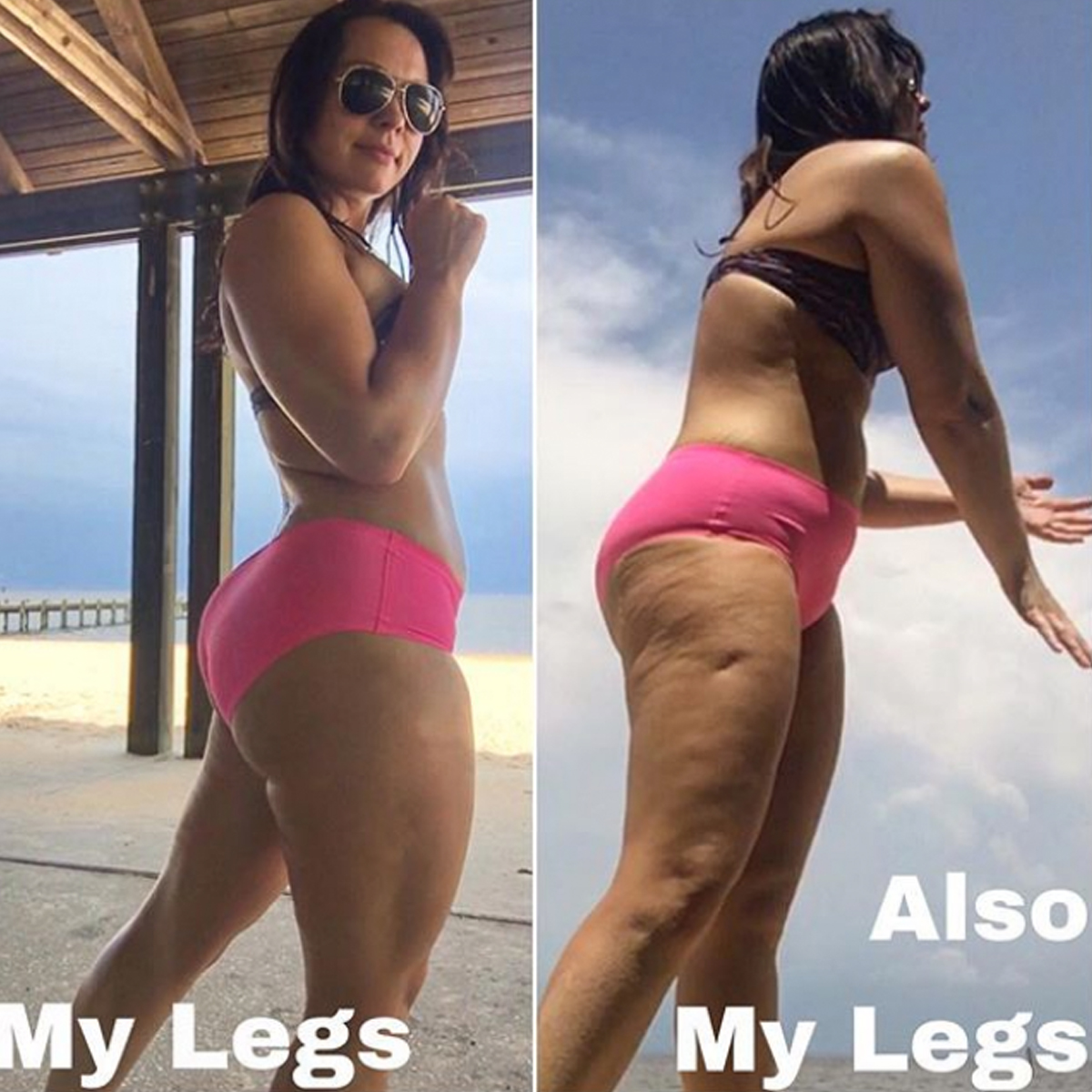 The body positive cellulite photo going viral on Instagram