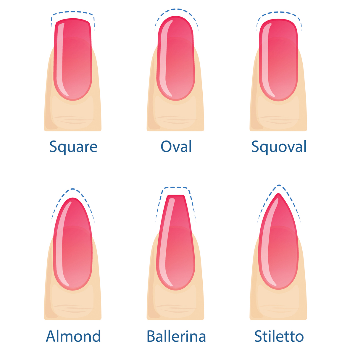8 nail shapes to know before you get your next manicure