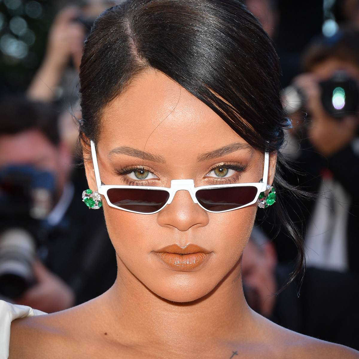 Why you've never seen Rihanna wearing any winged eyeliner