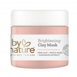 By Nature Brightening Clay Mask
